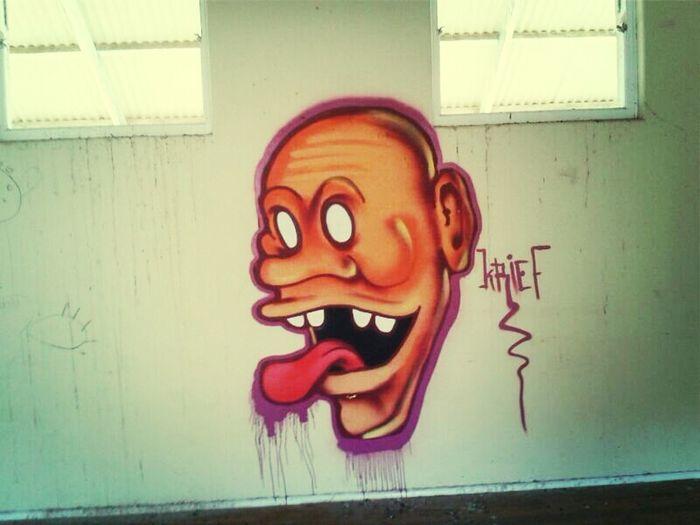AbandonedSchool @ElandsbaySA Street Art Adventure ◇