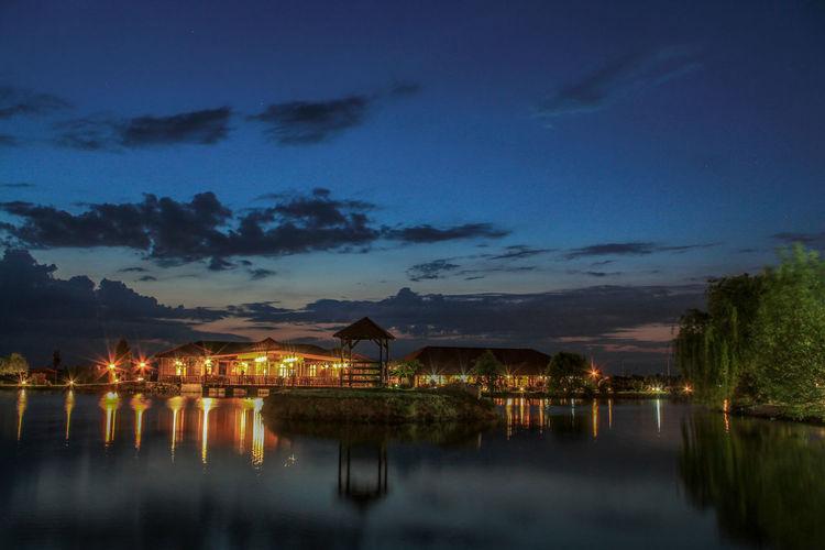Croatian_photography Croatia🇵🇾 Croatia Croatia ❤ Croatiafulloflife Croatia ♡ Water Cityscape Illuminated Sunset Lake Beauty Blue Reflection