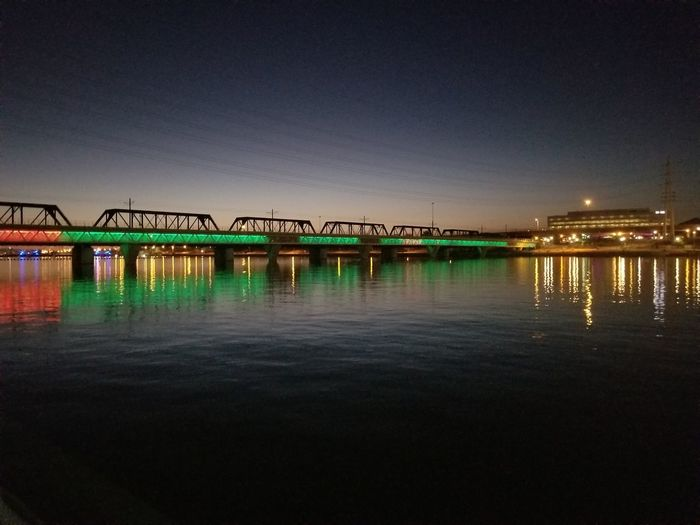 Tempe Town lake City Water Sea Business Finance And Industry Cityscape Bridge - Man Made Structure Sky Architecture Built Structure Building Exterior The Photojournalist - 2018 EyeEm Awards