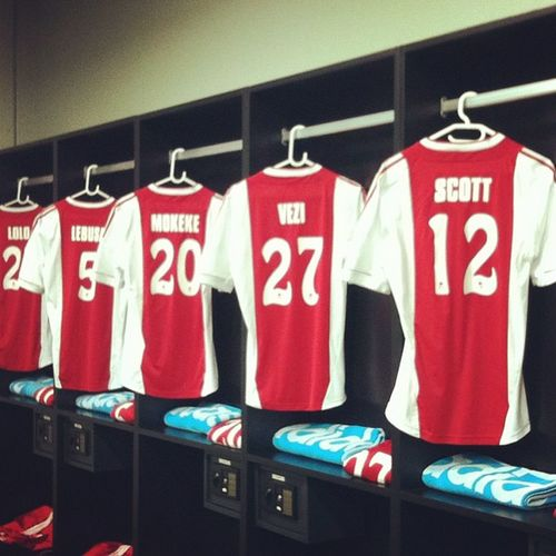 The kit is ready all we need now are the @ajaxcapetown players @ajaxctfans Ajaxct Capetown Soccer Psl absapremiership