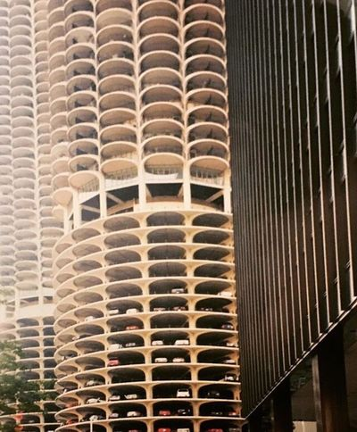 Film 1990a Chicago architecture Bertrand Goldberg Pattern Architecture In A Row