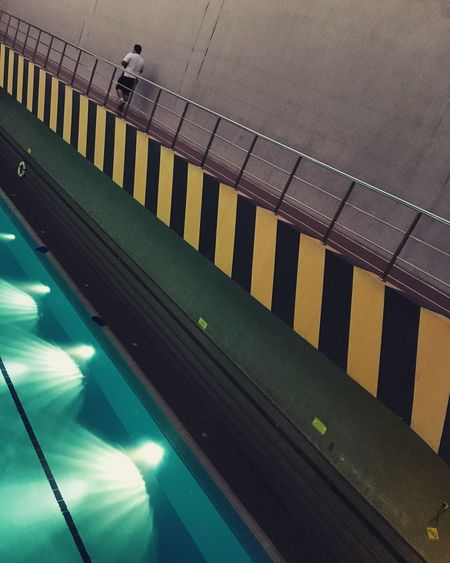 Indoors  Yellow Strips Fitness Fit Architecture Lines Lines And Shapes LINE First Eyeem Photo