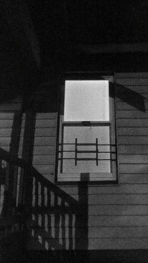 Bars and Shadows Scottdale Cedar Street Georgia Decatur, Ga NightTimePhotography Nighttime Photography Night Photography Shadows & Lights Windows