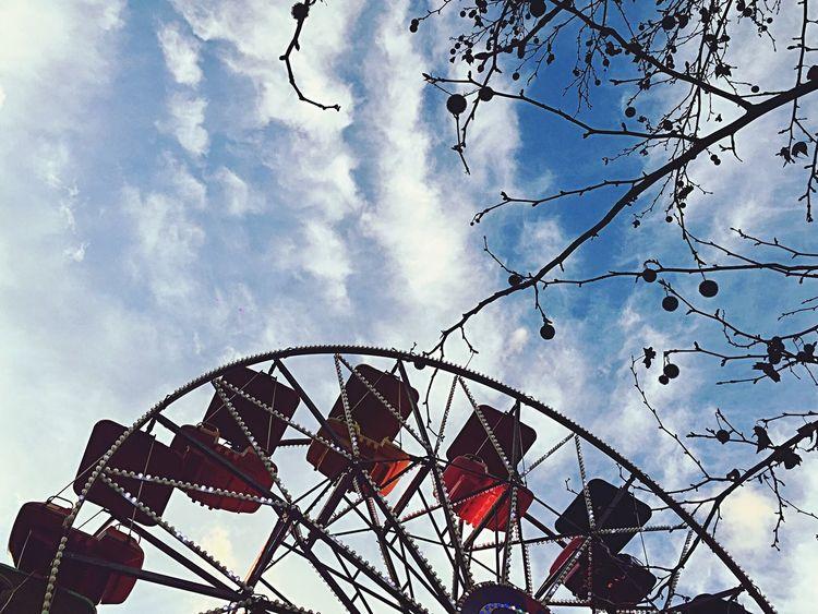 Spring is coming.. Amusement Park Sky Cloud - Sky Leisure Activity Ferris Wheel Outdoors Milano Parco Sempione