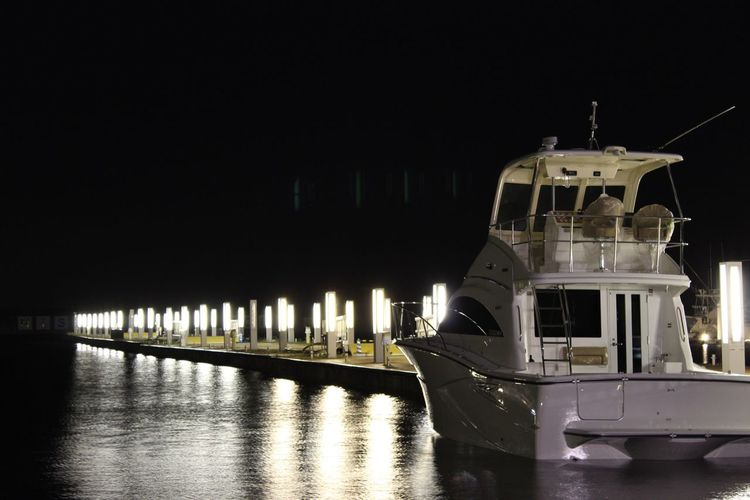 Holiday Night View Ship