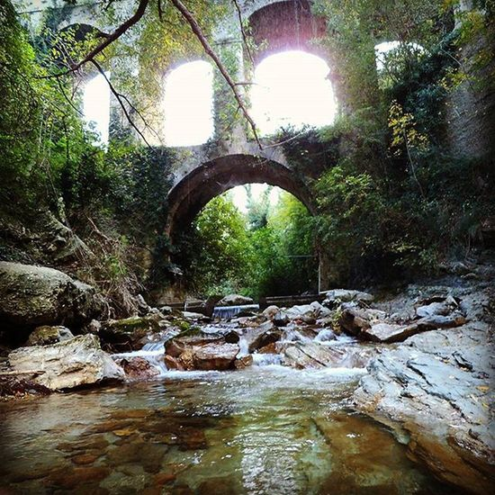 Color Nature Naturlovers Ponte Sul Garrafo Acquasantaterme AP Ascolipiceno Bridge Ontheriver Jungle Savage Rocks Photoofnature Bestphoto Oldalbum Oldphoto ©