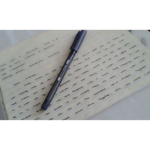 memOir writing. madE the cLass cry. -_- GerOn
