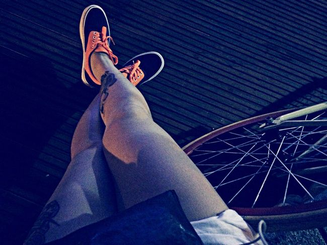 Fixie Fixed Gear Night Lazy #溜躂