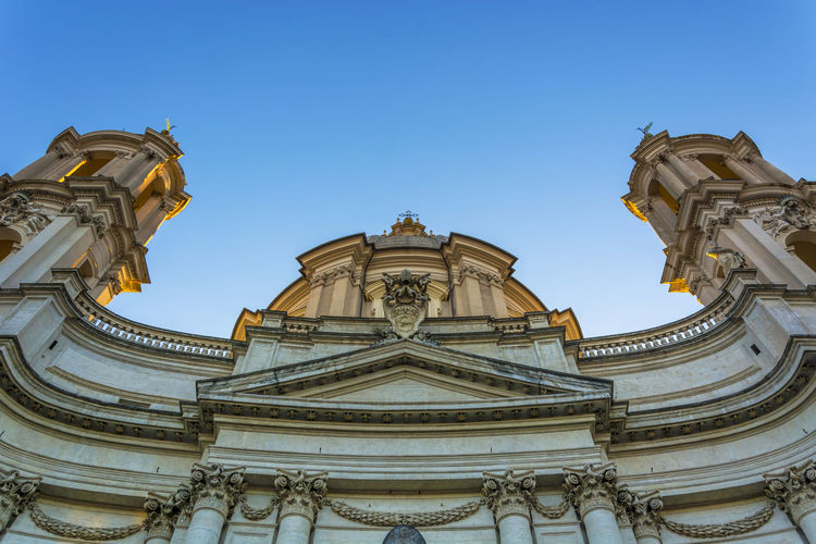 Church Of Santagnese Against Sky