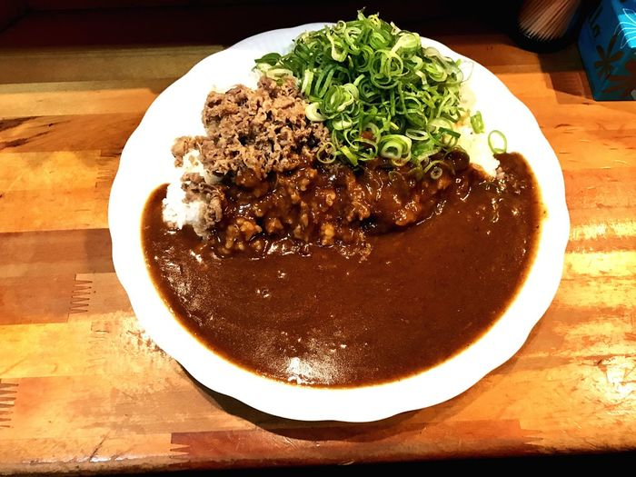 Japanese Food Curryrice BeefCurryRice OSAKA MojaCurry