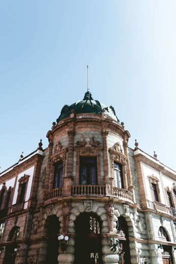 Oaxaca. Politics And Government City Government Dome Politics Clear Sky Façade Sky Architecture Building Exterior Historic Architectural Column Historic Building History Amphitheater The Past