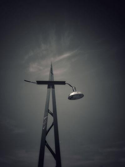 Lamp Lamp City Summer Summertime Countryside The Minimalist - 2019 EyeEm Awards Military Fog Technology Sky Urban Skyline