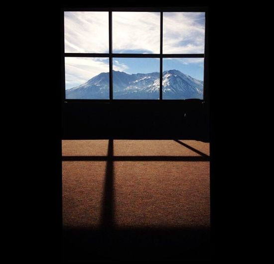 Darkness And Light IPSSquare Mt. St. Helens  IPhoneography Mountains Washington IPSShadows