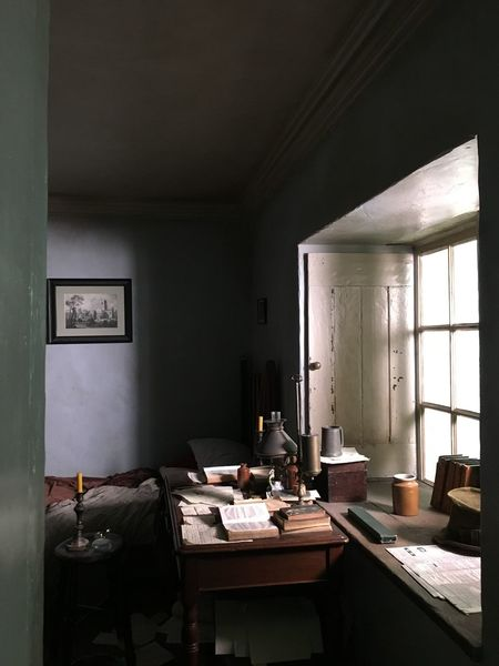 Bronte Parsonage Emily Bronte England, UK StillLifePhotography XIX Century Blue Wall Bronte Bronte Sisters Home Interior Home Showcase Interior Indoors  Interior Living Room Moors Moors Valley No People Still Life Window Wuthering Heights