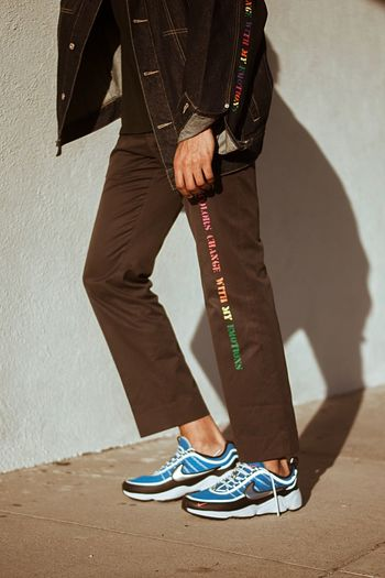Coloring My Pants Colors Color Clothing Custom Photographer Photography Photo Shoe One Person Human Leg Standing Indoors  Men Low Section Shadow Day One Man Only Young Adult Close-up Adult Only Men Adults Only People