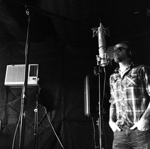 Recording vocals for One Last Match In The Studio Music Live Music Bands Band Jay Rapp Enjoying Life That's Me Black Ink Breakdown