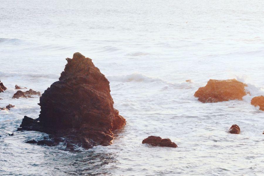 Water Sea Scenics Rock - Object Tranquil Scene Beauty In Nature Wave Rock Formation Surf Nature Waterfront Tranquility Idyllic Majestic Non-urban Scene Remote Travel Destinations Day Seascape Geology Litoralalentejano Alentejo
