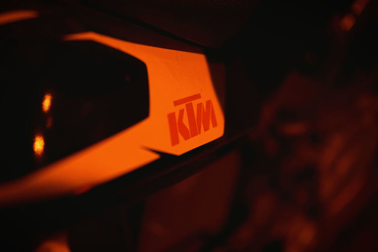 Ktm KTMRacing Ktmworld Ktmlove Nightphotography Nightlife Sonya7rm2 Close-up No People Red Night Outdoors First Eyeem Photo