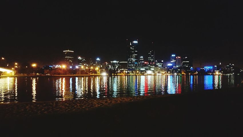 Quick picture of perth city before fishing Perth City Lights So Peaceful Perth Perfect