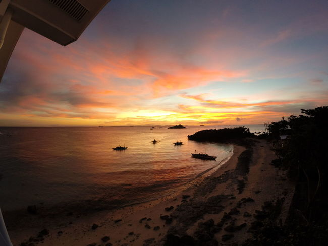 Sunsets never get old. Beach Coastline EyeEm Best Shots EyeEm Nature Lover EyeemPhilippines Gopro Horizon Over Water Light Light And Shadow Majestic Nofilter Outdoors Sand Sea Shore Showcase: February Silhouette Sky Sunset Tranquil Scene Vacations Water