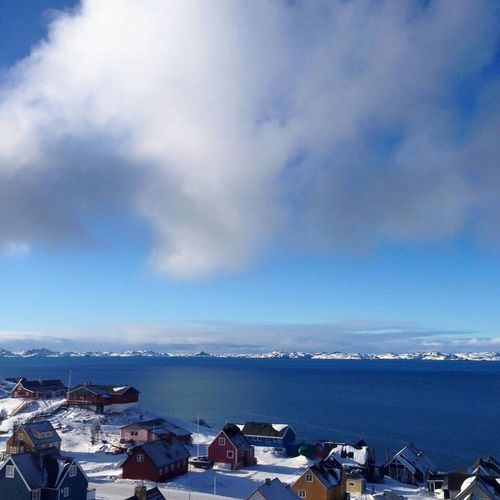 Its A Beautiful Day Sky & Sun Sky Reflections Skies Wonderfuld Greenland The Real Greenland Colorfull