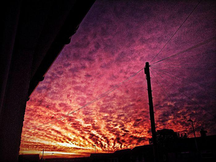 Sunset Sky Clouds The Explorer - 2014 EyeEm Awards