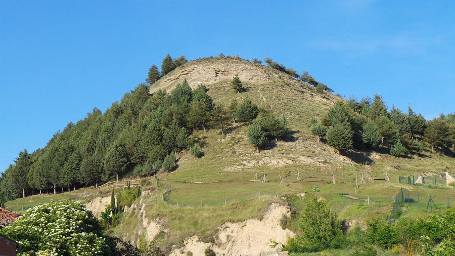 Scenic View Of Mountain At Camino De Santiago