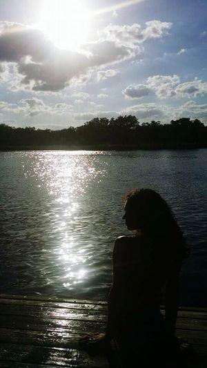 Daylight Lake View Lake Serenity Peaceful Relaxing Reflection