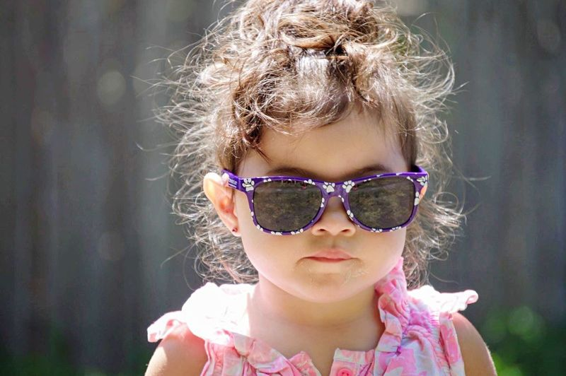 Headshot Child One Person Outdoors Childhood One Girl Only Children Only Day Close-up Twoyearold  Detroit Innocence Enjoying Life Cutie Wearing Glasses Girls