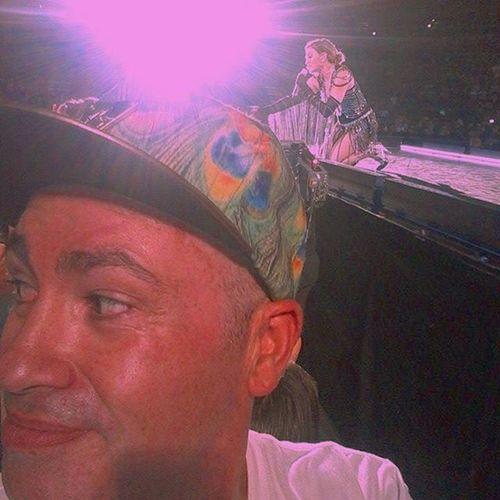 Madonna picking my brain. Madonna RebelHeartTour Auckland Vectorarena