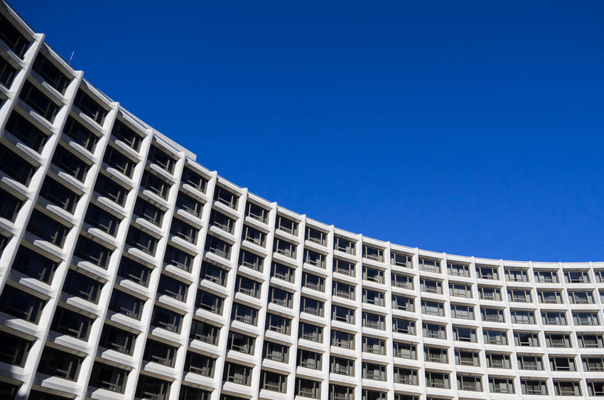 Architecture Brutalism Building Built Structure City City Life DC District Of Columbia Geometric Shape Low Angle View Modern No People Washington DC Washington Hikes Washington Hilton