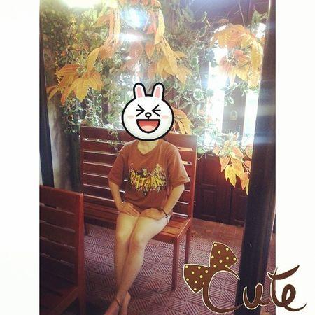 =)))) ha ha ha. Funny Cony Bunny  Lunch at Joiedevie Vietnam
