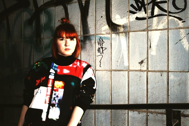 Taking Photos Hi! Hello World That's Me HipHop Rap Genetikk Rudolstadt Redhead
