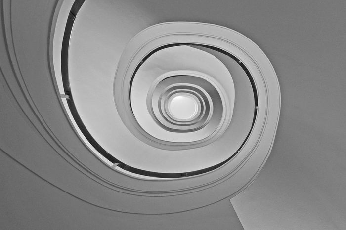 Bw_collection Architecture Endlessness The World Needs More Spiral Staircases Awesome Architecture