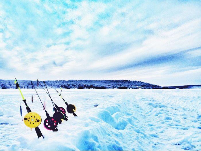 Icefishing Rovaniemi, Finland Articsnowhotel IPS2016Blue Sojourn IntotheArticCircle Aurora Chasing Winterinlaplandfinland Winterinfinland2016 Pastel Power