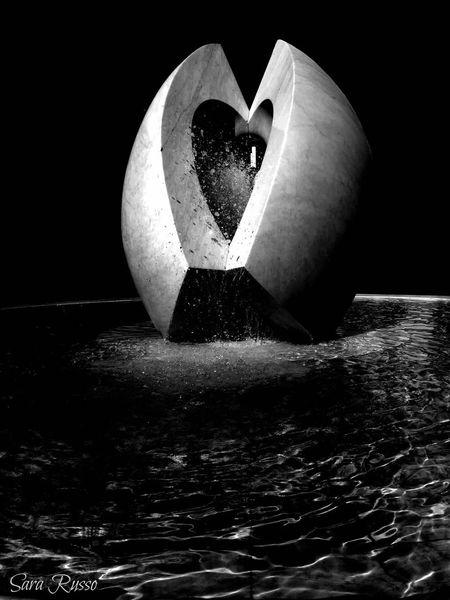 La Fontana Dell'amore La Spezia Italy Fountain Of Love Love Fountain Heart ❤ Heart Fountain Fontaine Amour ❤ Streetphotography