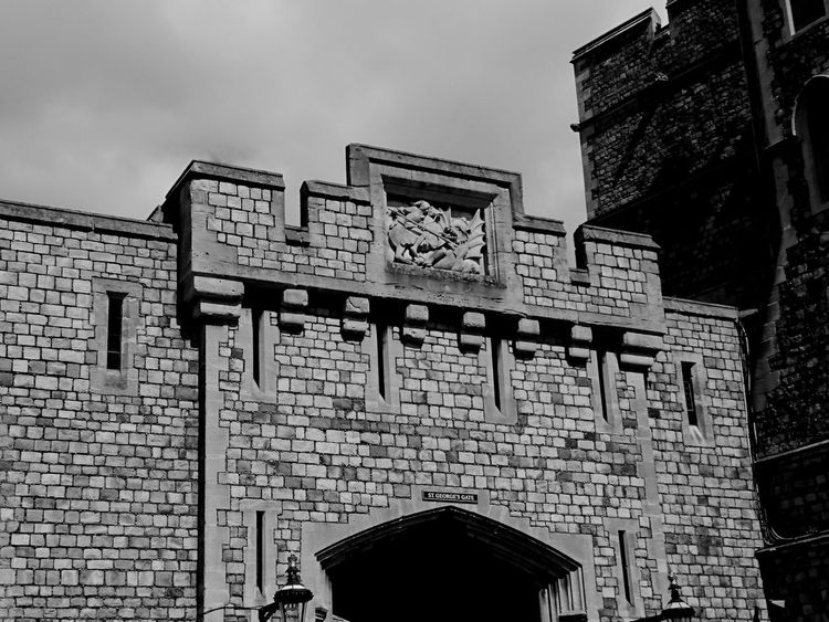 Windsor Castle Royalty Stgeorge Travel Photography Blackandwhite