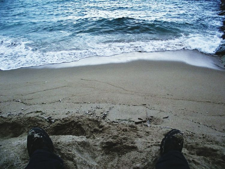 Beach Resting My Feet  My City That's Me