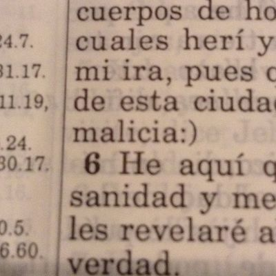 Happy face in the bible lmao