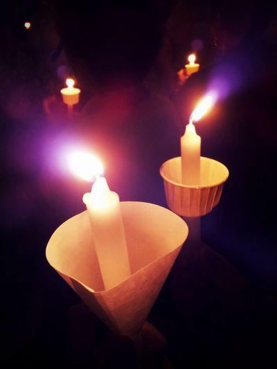 Fire Candle Light Sunday Mass