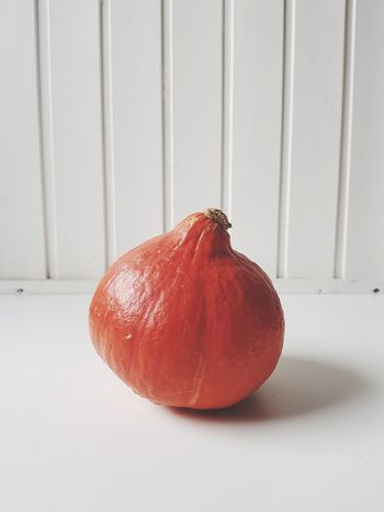 Pumpkin Red Food And Drink No People Freshness Healthy Eating Art Orange Fitness For Sale Hungry Beauty In Nature Full Frame October Change Autumn The Week On EyeEm EyeEm Best Shots Minimalism Pumpkin Vegetable White Background Ready-to-eat Red Round Food Close-up