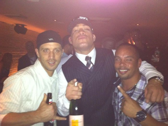 UFC 133 @ Philly...partyin Hard Wit My Boys Jason And Tito