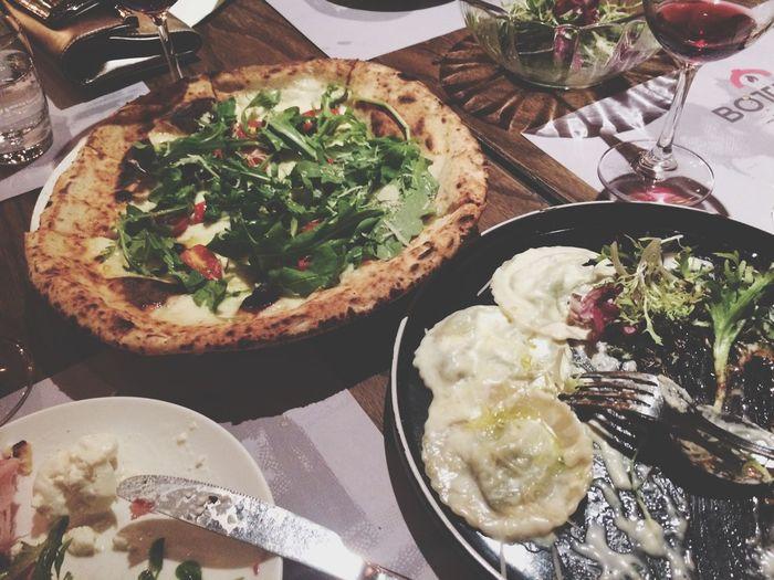 Wine and dine Pasta In Vino Veritas Mamma Mia Ravioli Pizza