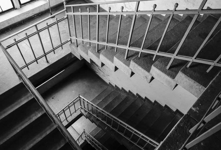 High Angle View Of Stairs