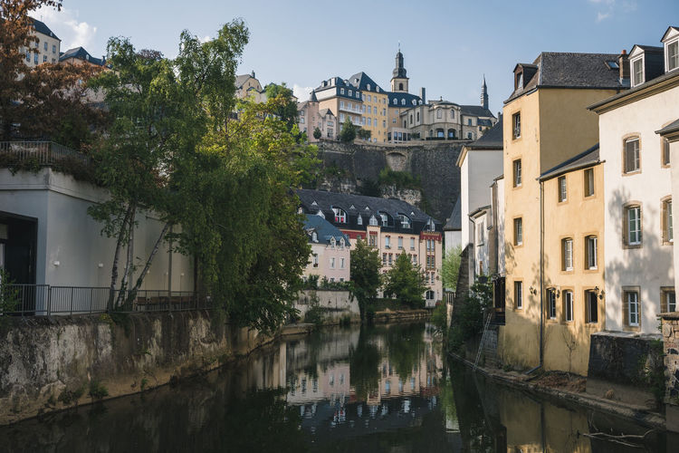 Architecture City Cityscape Luxembourg Nature Old Town Building History Outdoor Photography Outdoors Palace River
