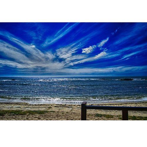 Ocean views Sea Water Ocean Wave Waves Blue Ripple Ripples Nature Beautiful Horizon Est Oceano Onda Seaside Sky Clouds Cloud Seascape Ignaturale Seascapes Natur Irox_water Ic_water Tagsta tagsta_nature