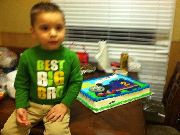 My Little Bother Yesturday For Hes Birthday ❤