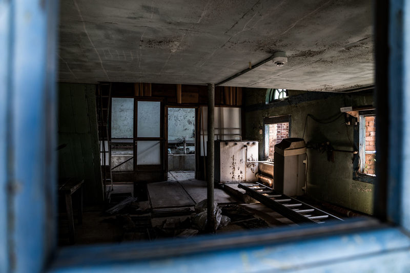 Abandonment Cliffs Japan Room Abandoned Architecture Built Structure Day Indoors  Mine No People Window
