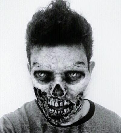 Zombie Me Straightoutofcamera DeadAlive Horror Portrait Dead Blood Shoot Deadlyeyes DOPE Great