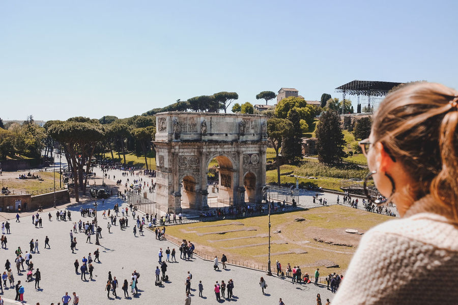 Arch of Constantine at the Colosseo Coloseo Colosseum Eternal City Italy Italy❤️ Rome Rome Italy Rome Italy🇮🇹 Rome Through My Eyes Rome View Rome, Italy Romestagram Romestreets